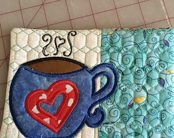 Teachers mug rug or coaster