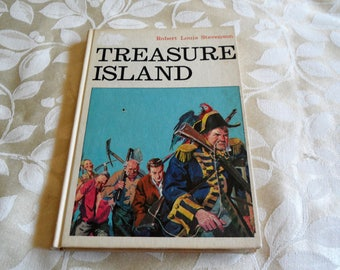 Treasure Island by Robert Louis Stevenson Hardcover 1973