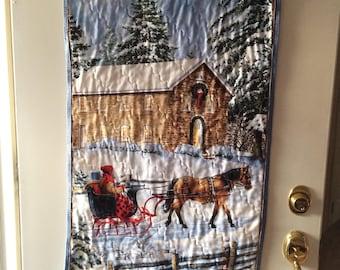 Wall/door Hanging, Winter