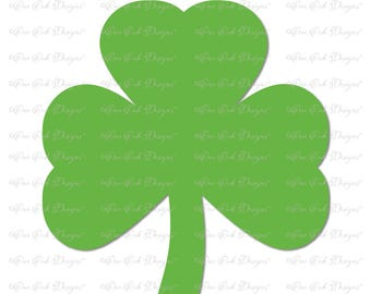 Shamrock SVG Cut File dxf / pdf / png / jpg for Cricut Explore, Cameo, Scan n Cut and other cutting machines