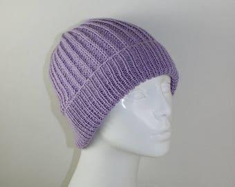 40% OFF SALE Instant Digital File pdf download Knitting pattern- 4Ply Fishermans Rib Unisex Beanie Hat pdf download knitting pattern