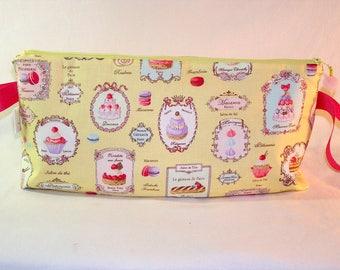 Patisserie Anna Clutch - Premium Fabric