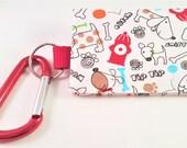 The Bag Buddy - Dog Mess Bag Pouch / Poop Bag Holder / Leash Purse / Dog Waste Bag / Pet Mess / Pet Accessories / Handmade / Poo / Gift Idea
