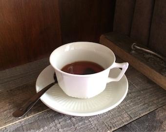 Irregular Fake Cup of Tea Teaspoon Adams Ironstone England Photo Prop Staging