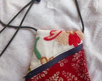 A bohemian strap pouch
