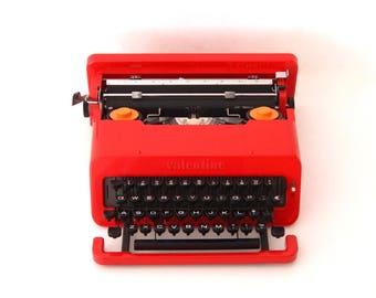 Olivetti Valentine s typewriter by Ettore Sottsass 1969