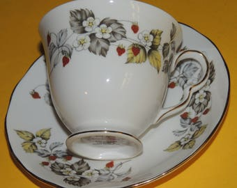 Royal Vale Bone China Cup and Saucer made in England