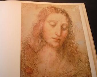 Da Vinci Head of Christ - Study for The Last Supper - Fine Art Print - Italian Renaissance Framable  for art lovers