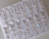 CUSTOM ORDER for Claudia -  Crystal Beads | Silver Wire - Free Shipping