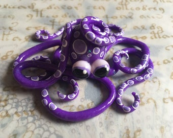 Purple Polka Dot Octopus