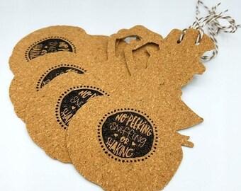 Snowman Gift Tags, Christmas Tags, Christmas Packaging, Holiday Gift Tags, Holiday Packaging, Christmas Tag Set, Snowman, Cork Gift Tags