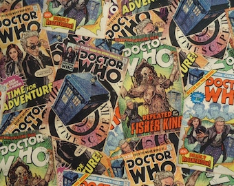 Doctor Who 12th Doctor Comic Book Covers Shirt Made to order in Men's sizes Small up to 4x