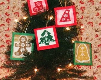 Quaker Christmas Ornaments