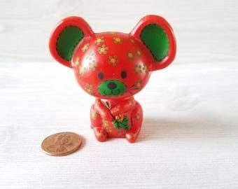 Hallmark Calico Mouse Christmas  Figurine