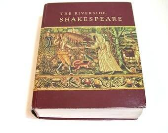 The Riverside Shakespeare Vintage Book