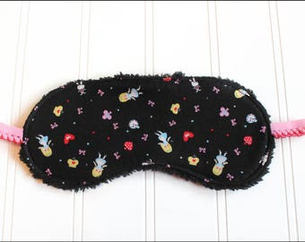 Alice in Wonderland Sleep Mask