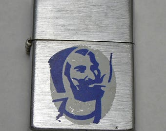 Vintage Zig Zag Man Cigarette Lighter Vintage Nesor Japan