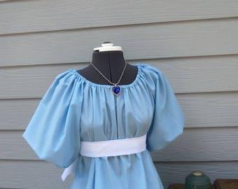 Ladies Custom Boutique WENDY of PETER PAN Costume Dress