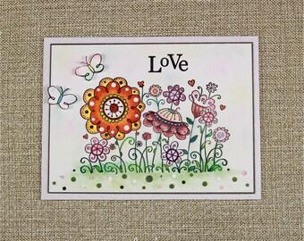 LoVe - Valentines card