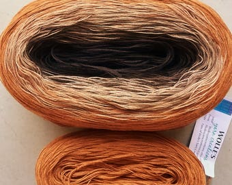 KAL Kit ~ COOKIES II -- Color Changing Cotton yarn -  Fingering Weight -- 960 yards