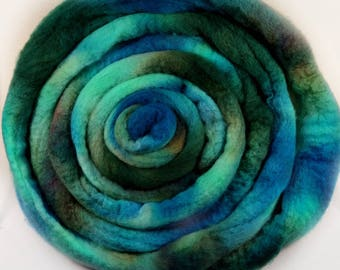 Earth & Sky 2 Bluefaced Leicester wool top for spinning and felting (4.2 ounces)