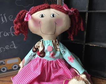 Raggedy Annie / Monkey / dress
