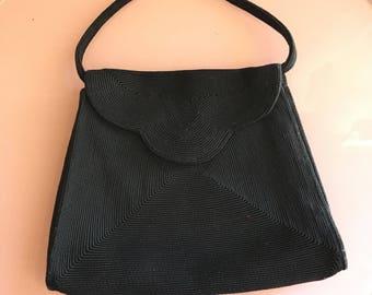 1940s Kor Day brand corde purse
