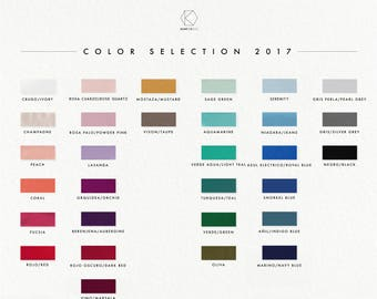 Color samples, bridesmaid dresses made to measure dresses, custom made, infinity dresses, bridesmaid dresses, color swatches, bridesmaid
