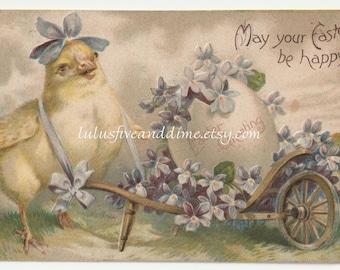 Vintage Embossed Easter Postcard - International Art Publishing Co - Early 1900s