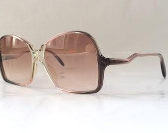70s Vintage German Marwitz Womens Ladies Curvy Arm Sunglasses