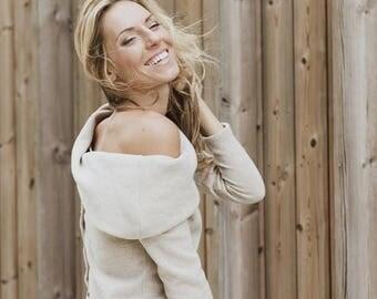 SALE - Long sleeves sweater | Fall sweater | Creamy sweater | LeMuse long sleeves sweater