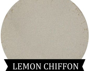Golden Sparkle Eyeshadow  LEMON CHIFFON Mineral makeup