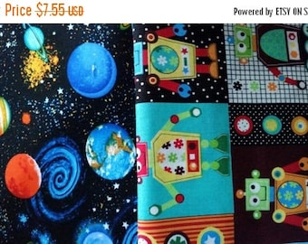 Outer Space Fabric--Hard Find