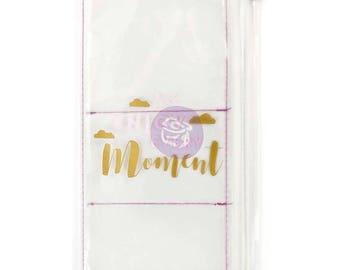 Enjoy Every Moment Prima Traveler's Journal Clear Pouch (593445)  PTJ Standard Traveler Journal Pockets