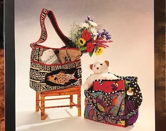Totesalot Purse, Handbag, Diaper Bag Pattern - Design and Planning Concepts # NM255 - Fat Quarter Project