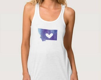 Montana Heart Tank Top