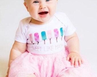 Sweet Like Mama Baby Onesie