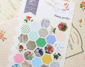 Honey Garden Sonia floral nature deco stickers