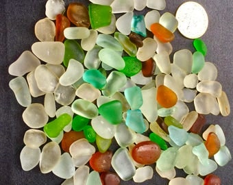 Beach Glass or Sea Glass of Hawaii beach 125 AQUA TEAL HEART!  for drilling! Rare colors! Bulk Sea Glass! Mosaic Tiles! Rare colors!