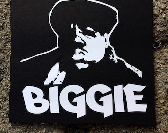 Biggie Smalls White Decal