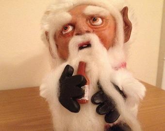 Santa Claus elf  OOAK art doll