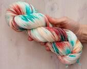 Caribbean CAL Pre Order - Hand dyed sock yarn