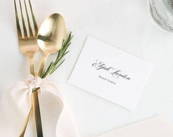 Kaitlyn Place Cards - Deposit