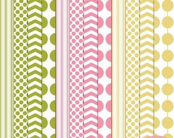 65%OFF SALE Digital paper, chevron digital paper, polka dot digital paper, vertical line paper, bead pattern, back to basics digital paper,