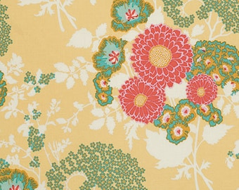 Joel Dewberry Fabric Yardage Botanique Bold Bouquet Butternut PWJD079.BUTTE
