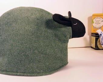 Sheep tea cozy, tea cosy: Frederick the sheep cozy