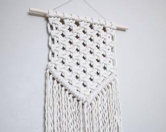 Macrame Wall Hanging | Symmetrical Banner Style