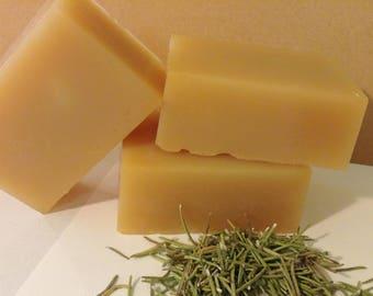 3 PACK--100% Natural Anti~Fungal Tamanu Nut oil--Herbal Therapy HAIR & BODY Soap Bar--Free U.S Shipping