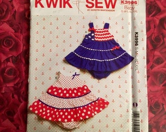 Infant Sewing Pattern Kwik Sew