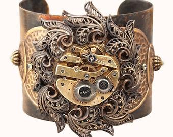 Steampunk Cuff Bracelet Steampunk Jewelry Cuff Bracelet Steampunk Bracelet Cuff Steampunk
